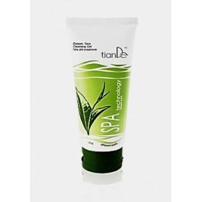 "10201 Измиващ гел ""Зелен чай"" ""SPA Technology"", 150 гр."