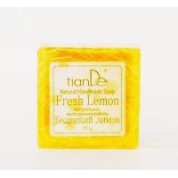 "140101 Натурален сапун ""Освежаващ лимон"", 85 гр."