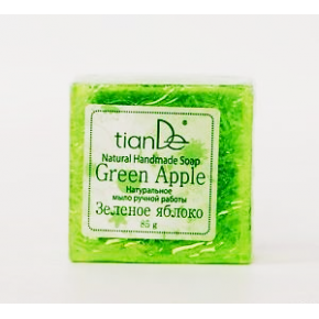 """140104 Натурален сапун """"Зелена ябълка"""", 85 гр."""