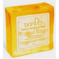 """140105 Натурален сапун """"Тропическо манго"""", 85 гр."""
