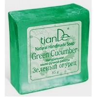 """140106 Натурален сапун """"Зелена краставица"""", 85 гр."""