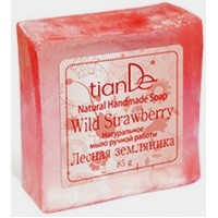 """140107 Натурален сапун """"Дива ягода"""", 85 гр."""