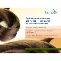 """23401 Шампоан – активатор на растежа на косата """"Bio Rehab"""", 250 гр."""