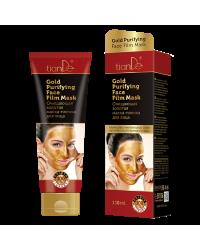 50116 Почистваща златна маска-филм за лице, 130 гр.