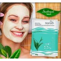 """50222 Антиоксидантна моделираща маска """"Зелен Чай"""", 100 гр."""