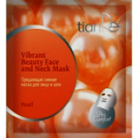 """52907 Придаваща сияние маска за лице и шия """"Перли"""", 1 бр."""