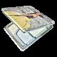 """90170 Огледало """"Момиче от корицата"""""""